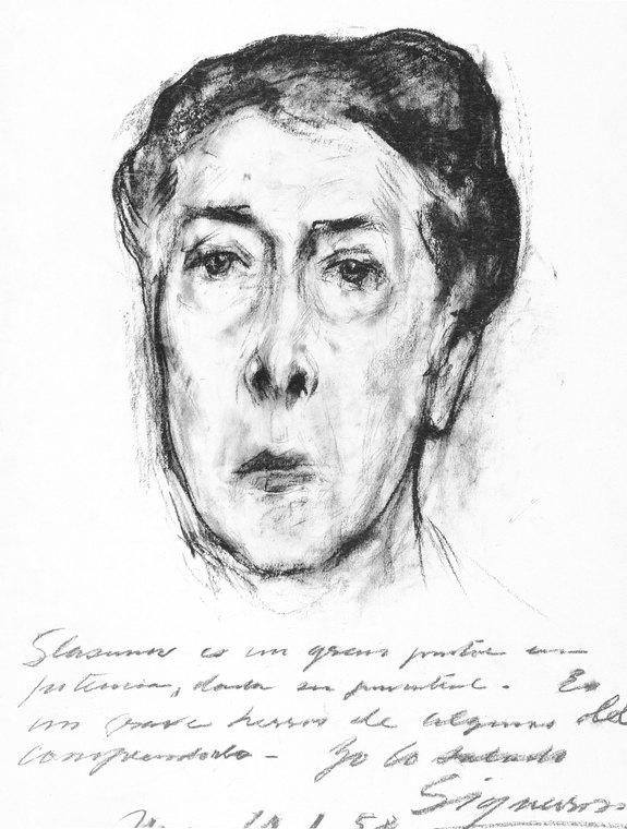 Портрет Давида Альфаро Сикейроса