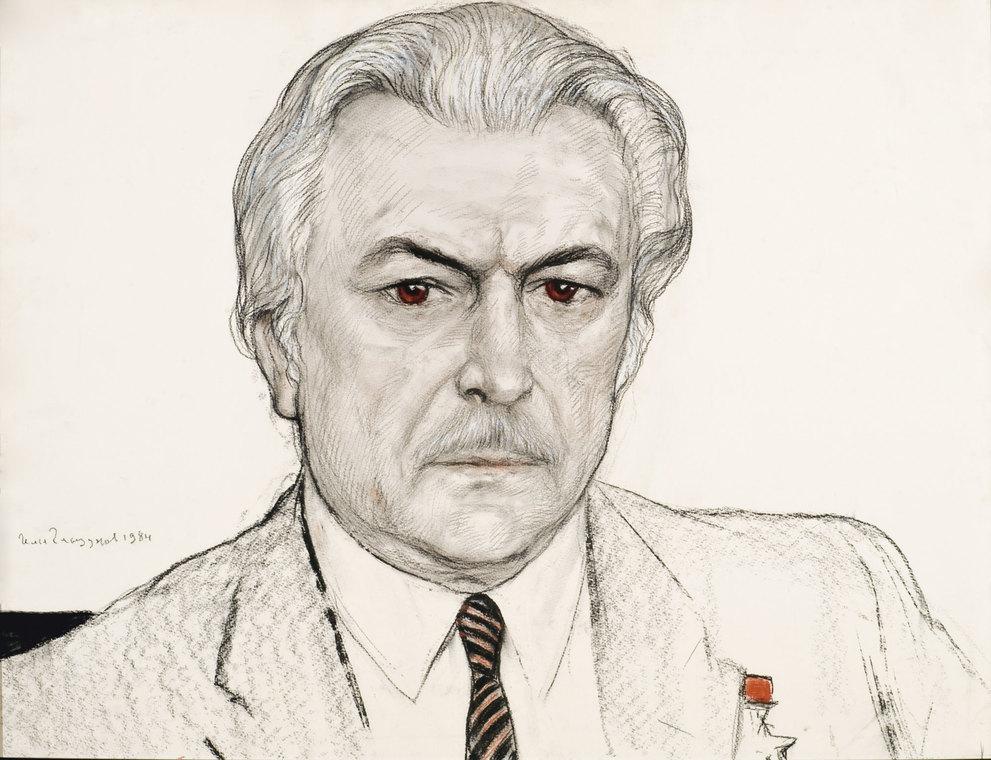 Портрет режиссера С.Ф. Бондарчука