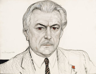 Portrait of Film Director S. Bondarchuk