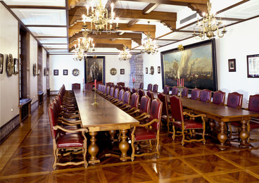The Peter Hall of Guest extension in Grand Kremlin Palace. Moscow