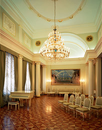 The Interior of the Hall. The Russian Embassy in Madrid
