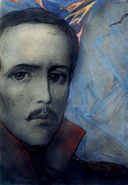 Portrait of M. Lermontov
