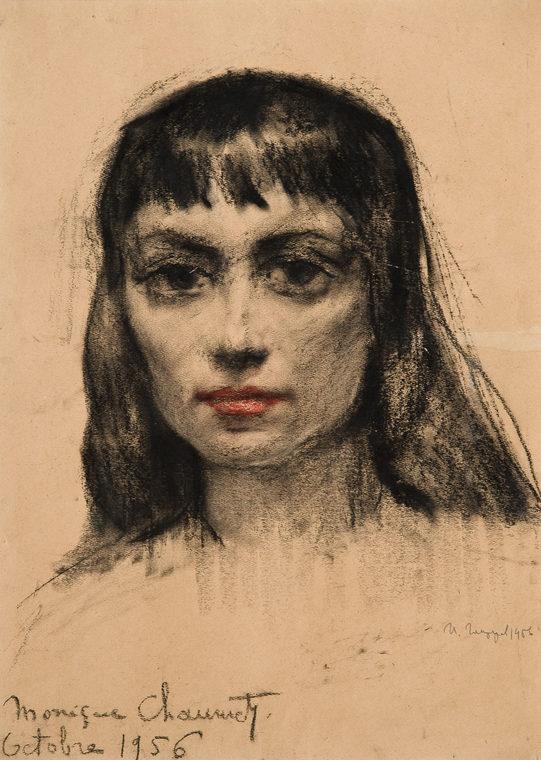 Portrait of Monique Chaumette