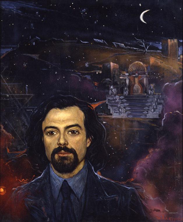 Портрет композитора и режиссера Ю. Шерлинга