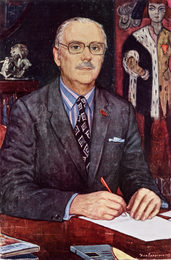 Portrait of S.Mikhalkov