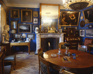 I. Glazunov's Apartment. Moscow