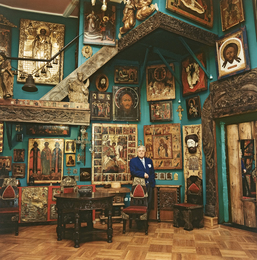 Interior of the Artist's Studio.