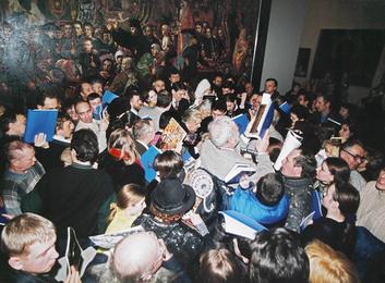 Встреча со зрителями в Манеже. Москва