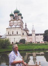 Илья Глазунов в Ростове Великом