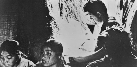 Илья Глазунов в окопах Вьетнама. Вьетнам